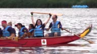 The 27th annual Hong Kong Dragon Boat Festival is held at Corona Park in Queens borough New York on August 12 2017 This international sporting event...