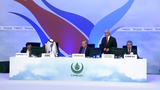 The 33rd Ministerial Session of the Standing Committee for Economic and Commercial Cooperation is held at Istanbul Congress Center on November 22...