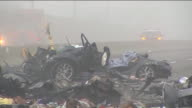 KTLA The 5 Freeway fully reopened shortly before midnight on Saturday nearly 24 hours after a fiery chainreaction crash triggered by suspected street...