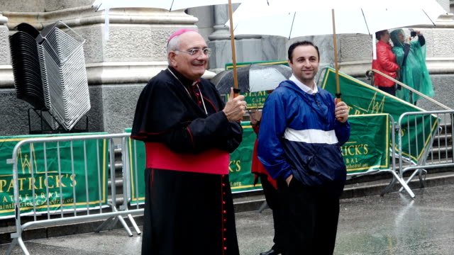 The 73rd Annual Columbus Day Parade in New York City via Manhattan's 5th Avenue Note Dominick John Lagonegro is an American prelate of the Roman...
