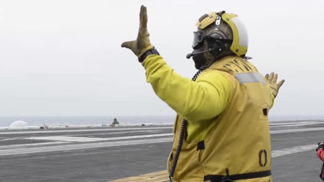 The aircraft carrier USS Theodore Roosevelt conducts flight operations Theodore Roosevelt is currently underway conducting a composite training unit...
