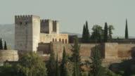 LS PAN the Alcazaba (citadel) part of the Alhambra of Granada