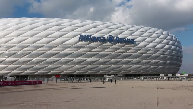 The Allianz Arena home of Bayern Munich stands in Munich Germany on Friday February 27 2015
