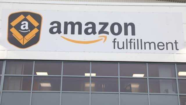 The Amazoncom Inc fulfillment center stands in Peterborough UK on Wednesday Nov 15 Photographer Luke MacGregor/Bloomberg