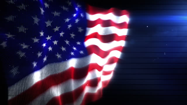 The American Flag - Background Loop (Full HD)