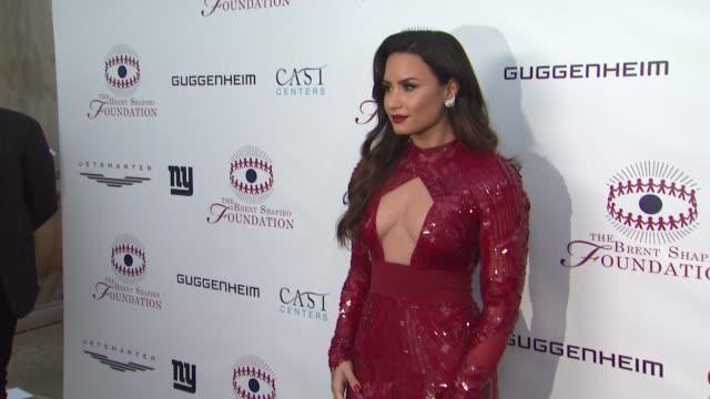 CHYRON The Annual Brent Shapiro Foundation For Drug Prevention Summer Spectacular Honoring Demi Lovato on September 09 2017 in Beverly Hills...