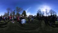 'The annual George Washington Birthday Parade February 20 2017 in Old Town Alexandria Virginia The nation celebrates President's Day to mark the...