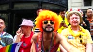 The Annual New York City Gay Pride Parade / The parade celebrates the Supreme Court decision to legalized samesex marriage across the United States /...