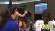 The Annual Skyrise Chicago stair climb benefitting the Rehab Institutes Of Chicago Hand Cycle Area At Willis Tower Stairclimb on November 03 2013 in...