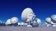 WS, PAN The antenna array at the Array Operations Site of ALMA Observatory / San Pedro de Atacama, Chile