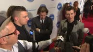 INTERVIEW The Arctic Monkeys on winning the award before at Mercury Music Prize at The Roundhouse on October 30 2013 in London England