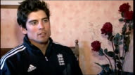 Alastair Cook and James Anderson return home ENGLAND London INT Cook interview SOT On returning to Essex to play for county