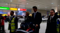 Alastair Cook and James Anderson return home ENGLAND London Heathrow Airport INT Alastair Cook arriving at Heathrow