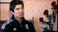 Alastair Cook and James Anderson return home ENGLAND London INT Alastair Cook interview SOT It's been a good couple of months something you can only...