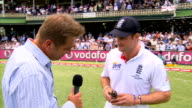 England win Fifth Test and Ashes series Graeme Swann interview on pitch SOT Wouldn't have dreamed we would win 31 Andrew Strauss interview on pitch...