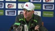 Australia press conference Michael Clarke press conference SOT