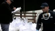 The bags containing the 76 tons of cocaine seized last week in the northern Peruvian city of Trujillo are now incinerated in a pressurized oven at a...
