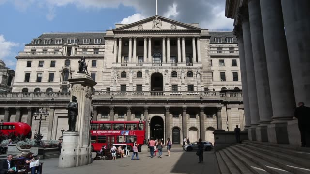 LS The Bank Of England building in London The Bank of England has again held interest rates at a record low of 05% for five years