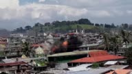 The battle between Islamist insurgents and government forces continues in Marawi in the south of the Philippines