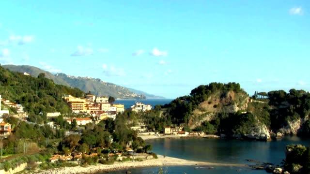 The bay of Mazzaro' in Taormina, Sicily.