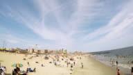 The beach at Coney Island.
