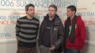 The Beastie Boys Adam Horovitz Adam Yauch and Mike Diamond on their concert film and plans for a new album at the 2006 Sundance Film Festival...