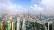 the beautiful sunrise scenery on both sides of the Huangpu River