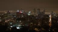 Grande città Time lapse