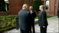 Liverpool Council pull out of scheme LIB ENGLAND Merseyside Liverpool EXT David Cameron MP arriving at venue with Eric Pickles MP and Phil Redmond...