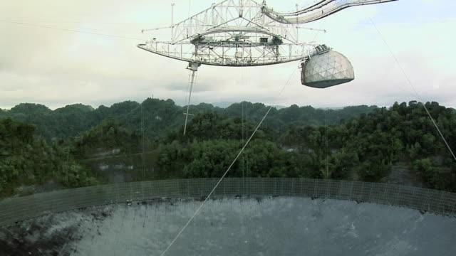 MS TU The biggest Radio Telescope in World at Arecibo, Puerto Rico, USA