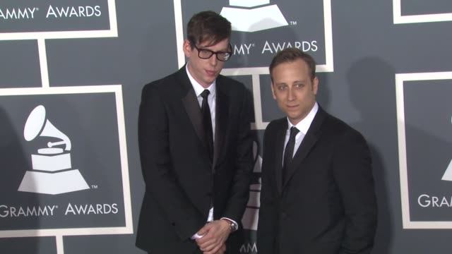 The Black Keys at the 53rd GRAMMY Awards Arrivals at Los Angeles CA