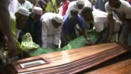 The bodies of the victims of the New Year stampede that left at least 63 people dead in Abidjan were handed over to their families to allow them to...