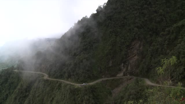 The Bolivians call it 'death road' and not without reason La Paz Bolivia
