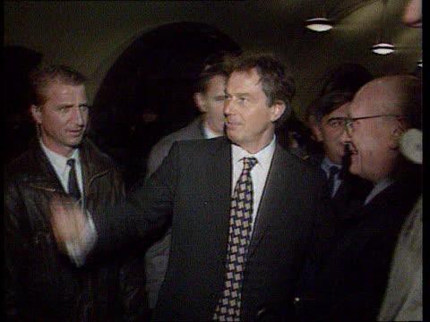 The Boris Yeltsin collection Blair meets Yeltsin Moscow