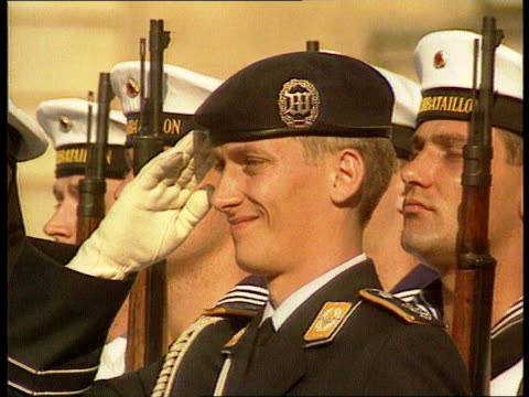 The Boris Yeltsin collection Yeltsin attends ceremony in Germany as last Russian troops leave