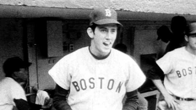 The Boston Red Sox wins a Major League Baseball game against the New York Yankees / Red Sox Rookie Billy Rohr in his firstmajor league appearance...