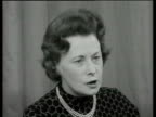 The Brainwashing of Troops Barbara Castle interview SOT says that Britain would not use brainwashing as it is forbidden by the Geneva convention It...