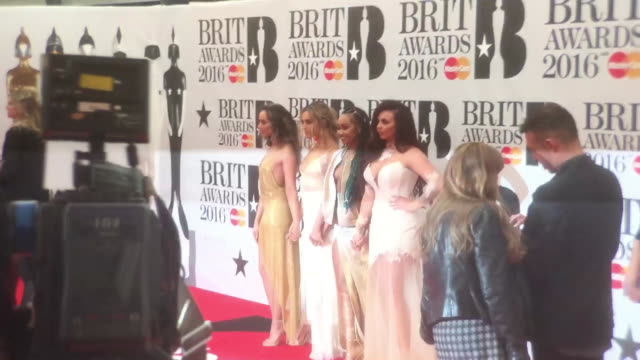 CLEAN The BRIT Awards at The O2 Arena on February 24 2016 in London England