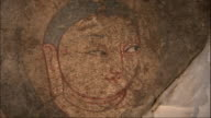"""The Buddha's image called """"Mona Lisa"""" The whole face Zoom in to her eyes"""