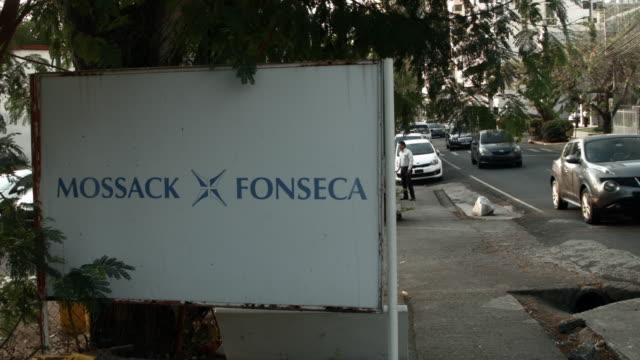 The building that houses the law firm Mossack Fonseca Co is seen on April 7 2016 in Panama City Panama The law firm which specializes in setting up...