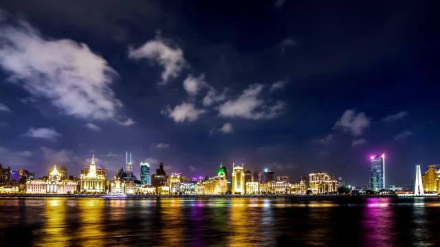 T/L WA The Bund at Night / Shanghai, China