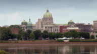 The Capital of Pennsylvania Harrisburg taken from across the river.