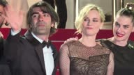 The cast of German film In The Fade walked the Cannes Film Festival red carpet on Friday alongside director Fatih Akin