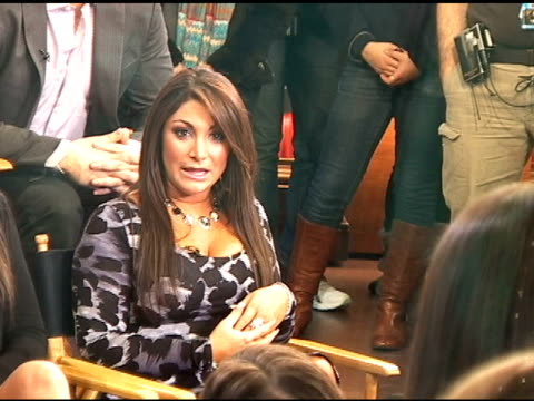The cast of 'Jersey Shore' at Good Morning America 01/06/11 at the Celebrity Sightings in New York at New York NY