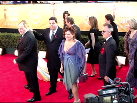 The Cast of The Sopranos at the 2005 Screen Actors Guild SAG Awards Arrivals at the Shrine Auditorium in Los Angeles California on February 5 2005