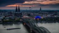 Die Kathedrale (Dom) und Rhein, Köln