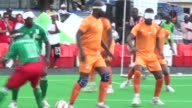 The Cecifoot African Cup of Nations a competition for partially sighted or blind players has kicked off in Cameroon