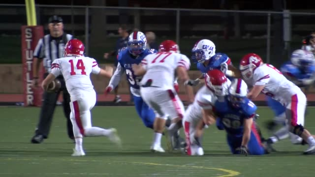 The Cherry Creek High School football team has a storied history of state championships and great players The 2015 team has a stout defense that held...