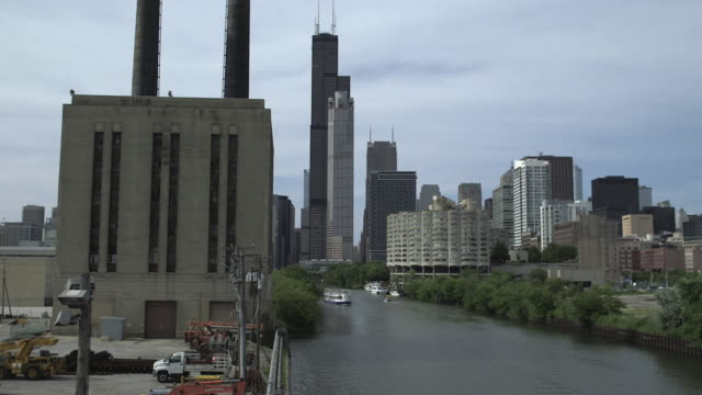 The Chicago Skyline From the south