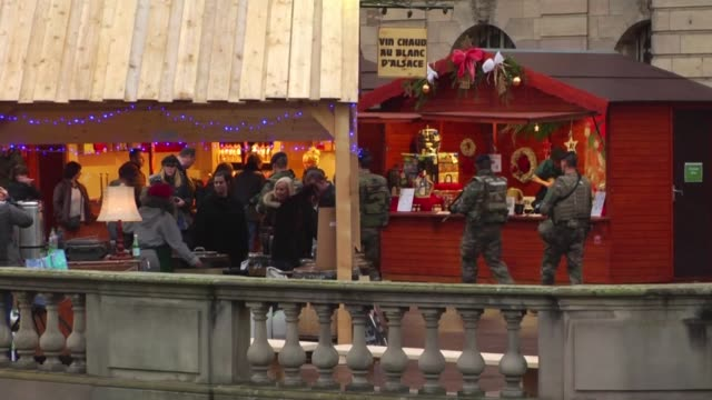 The Christmas market in Strasbourg one of the largest and most famous in Europe opened under tight security on Friday with nineteen checkpoints and...